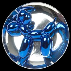 Jeff Koons Blue Balloon Dog Sculpture, 1998-2002