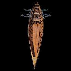 Art Deco Kiel-Boat, circa 1940