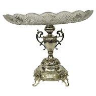 Silver Aufsatz / Fruit bowl Hungary circa 1880