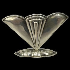 Art Deco Silver napkin holder Hungary 1910-1920