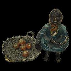 Vienna bronze object signed Bergman late 19th century Austria