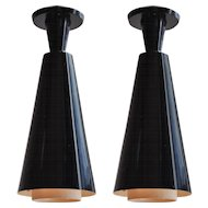 Pair of Pendant Lamps, Switzerland 1960s