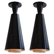Pair of Pendant Lamps, Switzerland 1960s