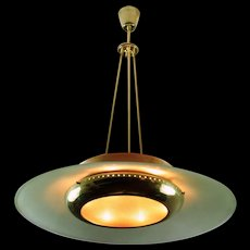 Pendant Lamp, Italy 1950s