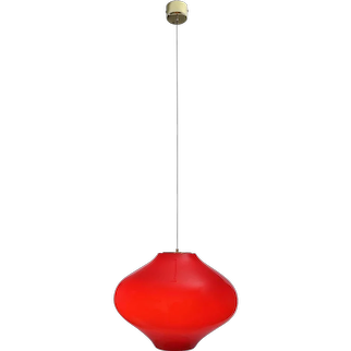 Pendant Lamp from Studio Venini, Murano, 1960s