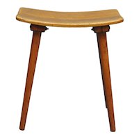 Douglas Fir Stool by Jacob Muller, Switzerland 1950s