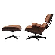 Eames Lounge and Ottoma, USA 1970s