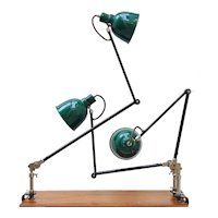 Alfred Muller Clamp Lamp
