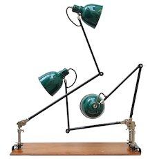 Alfred Muller Clamp Lamp