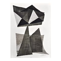 Kinetic Etching by Agam Yaacov
