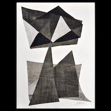 Kinetic Etching by Agam Yaacov