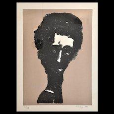 Mark Tobey Lithograph, USA, 1970