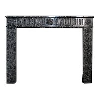 An Antique French Saint Anne Des Pyrenees Marble Fireplace