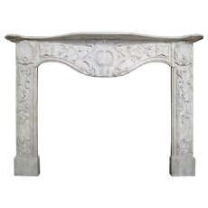 Late 18th Century Italian Marble Fireplace