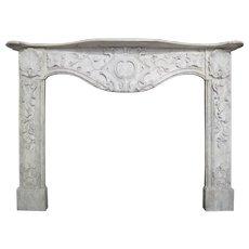 Late 18th Century Italian Marble Fireplace