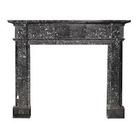 Antique George III Kilkenny Marble Fireplace Mantel
