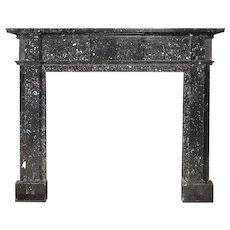 Antique George III Kilkenny Marble Fireplace Mantel