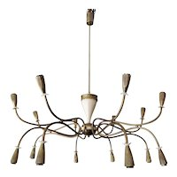 An Italian Mid Century Chandelier Attributed to Arredoluce