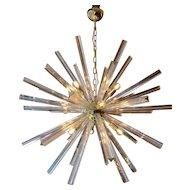 Murano Glass Sputnik Chandelier