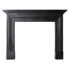 English Georgian Style Marble Fireplace Mantle