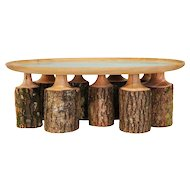 Side table by Sebastian Menschhorn