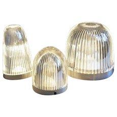 Iris lamps by Patrick Rampelotto
