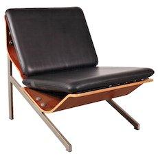 Cornelis Zitman Leather Easy Chair, 1964