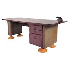 Memphis Style Desk, circa 1980