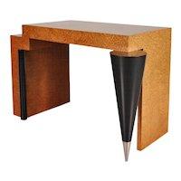 Memphis Style Desk or Console Table, circa 1980