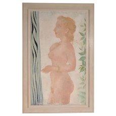 Painting by John Raedecker, circa 1939-1940