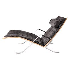 "First Edition ""Grasshopper"" Lounge Chair by Fabricius and Kastholm"