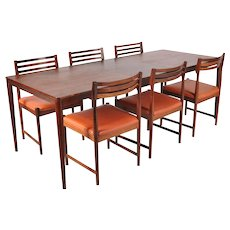 Dining Set by Severin Hansen for Haslev Mobelsnedkeri, circa 1960