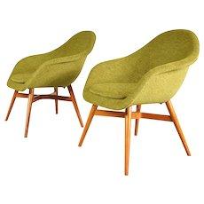 Set of Two Easy Chairs by Miroslav Navratil, circa 1960