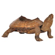 Bronze Turtle Shaped Ashtray, circa 1930