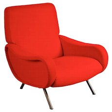 Marco Zanuso First Edition Lady Easychair, circa 1950