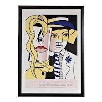 Roy Lichtenstein Metropolitan Museum of Modern Art Poster
