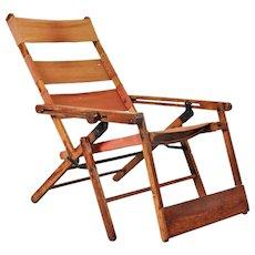Thonet Deck Chair Model 480, circa 1930