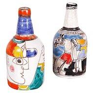 Desimone Pair of Ceramic Vases