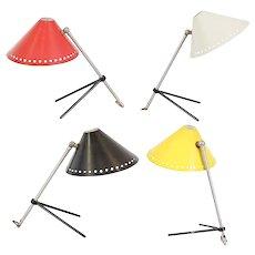 H. Busquet Pinocchio Lamps for Hala, circa 1950