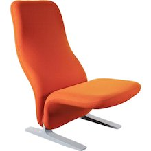 Pierre Paulin Concorde Lounge Chair for Artifort