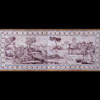 Late 18th Century Azulejos Mural