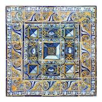 17th century diamond tip tiles
