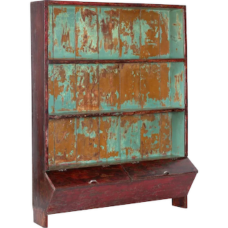 Antique Drugstore Cabinet