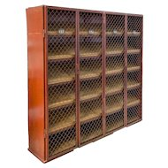 Agricultural cabinet to use as wine cage