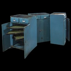 Iron tool cabinets