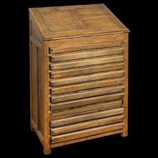 Tipography cabinet