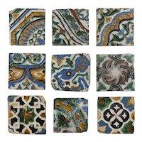 16th Century Mudejar tiles