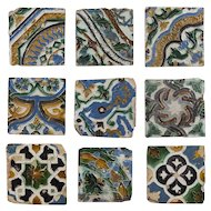 16th Century Mudejar tiles