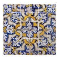 17th century Portuguese pattern tiles