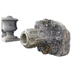 18th century marble water fountain